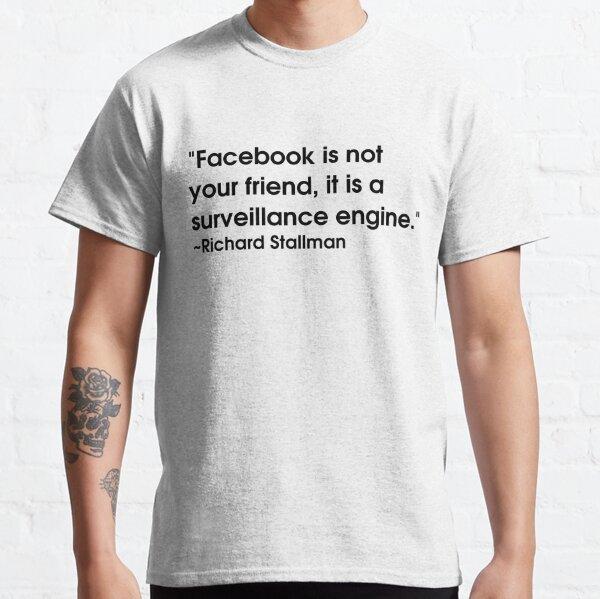 Stallman quote Classic T-Shirt