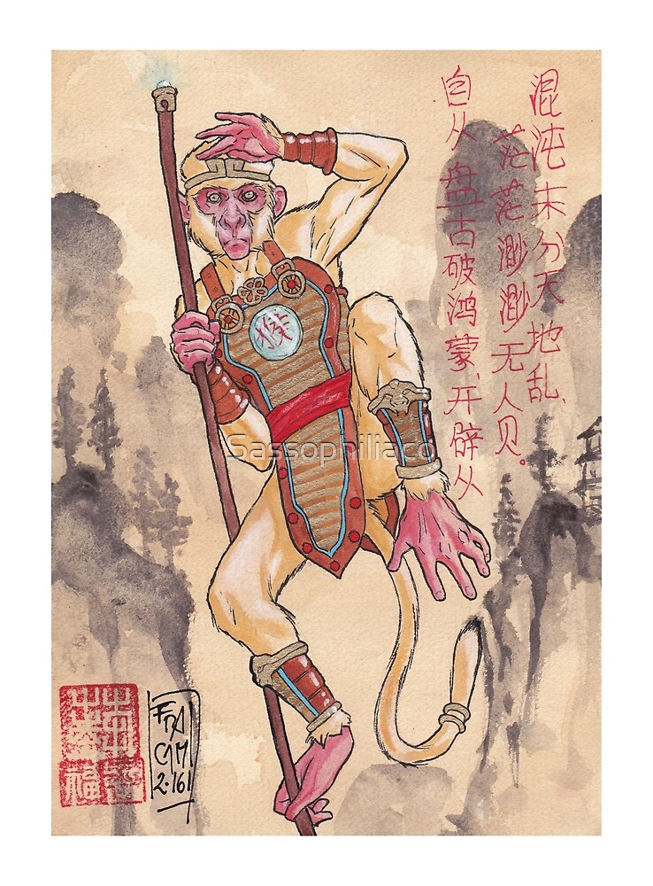 Sun Wukong by Sassophiliaco