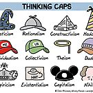 thinking caps by WrongHands