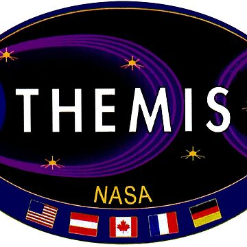 Time History of Events and Macroscale Interactions during Substorms (THEMIS) Logo by Quatrosales