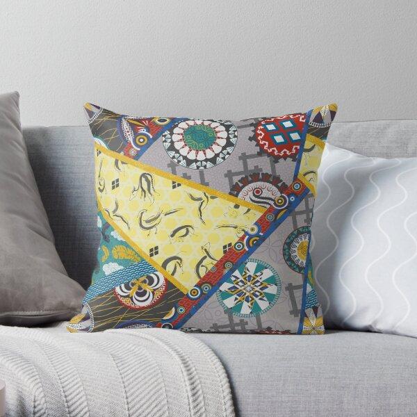 Kimono Kaubki Wrap Throw Pillow