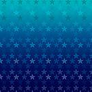 Blue stars design by Anteia