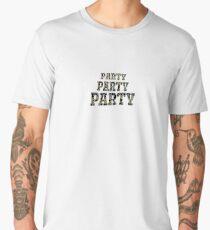 Party, party, party Men's Premium T-Shirt