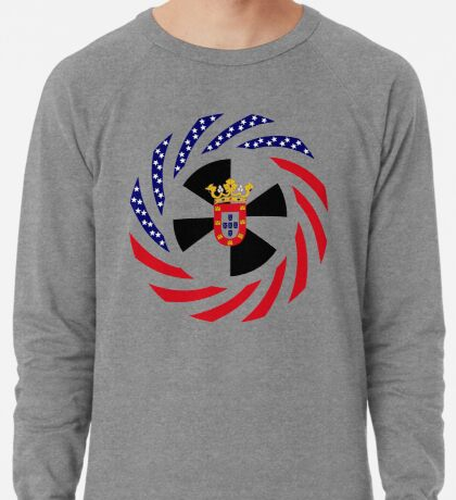 Ceutan American Multinational Patriot Flag Series Lightweight Sweatshirt