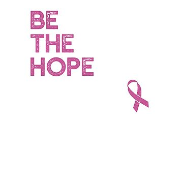 Pink Ribbon Hope, Breast Cancer Cure by santiagodesign