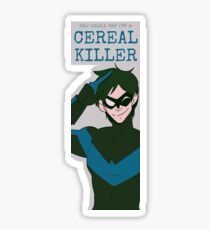 Nightwing Witty One Liners 2 Sticker