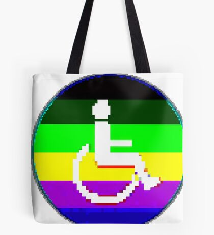 Handicap and Singularity Unity 2 by RootCat/marie b. Tote Bag