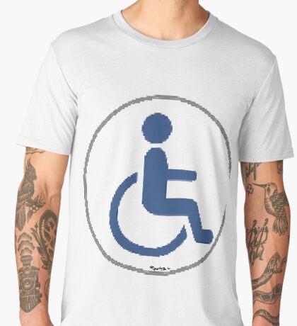 Handicap and Singularity Unity 6 by RootCat/marie b. Men's Premium T-Shirt