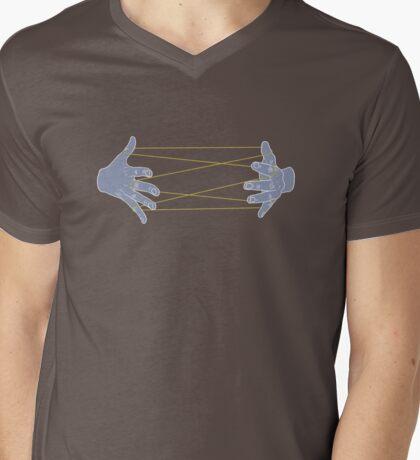 Cat's Cradle Mens V-Neck T-Shirt