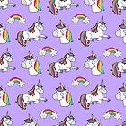 Purple unicorn by natsa