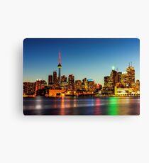 Toronto Skyline 3 Canvas Print