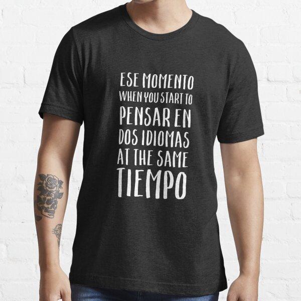 Habla Spanglish Idioma, Funny Spanish Momento Camiseta esencial