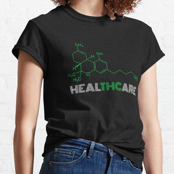 THC Molecule for Legalize Healthcare Cannabis Medical Marijuana Classic T-Shirt