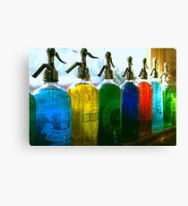 Pour Me a Rainbow Canvas Print
