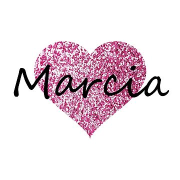 Marcia Pink Heart by Obercostyle