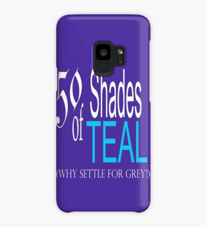 50 Shades of Teal ... Case/Skin for Samsung Galaxy