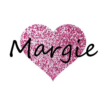 Margie Pink Heart by Obercostyle