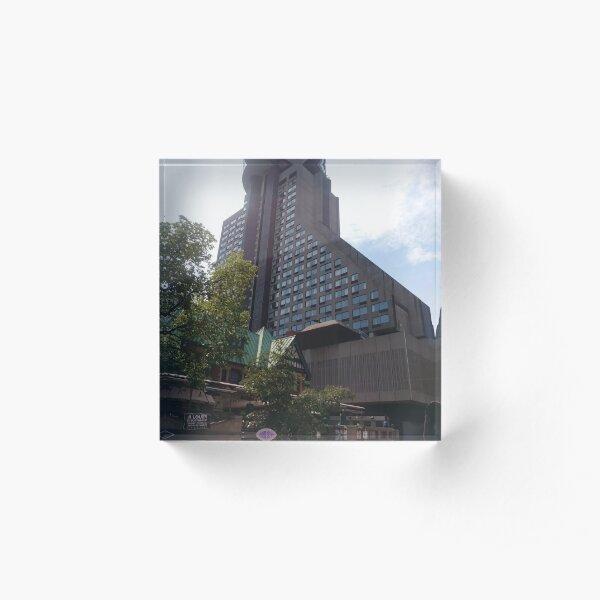 #Quebec #City, #QuebecCity, #Canada, #buildings, #streets, #places Acrylic Block