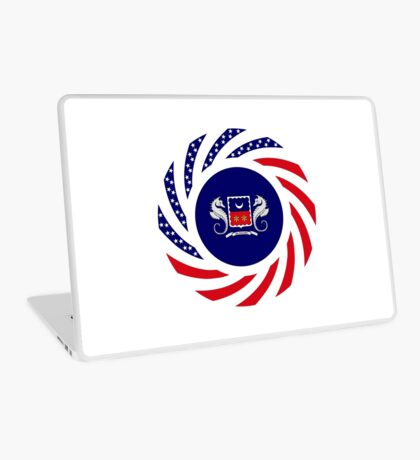 Mahorai American Multinational Patriot Flag Series Laptop Skin