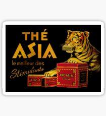 Thé Asia Advert Sticker