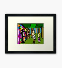 Han Solo and Gretel Framed Print