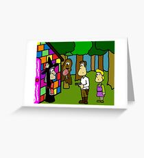 Han Solo and Gretel Greeting Card