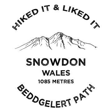 Snowdon Hiking-Wales Beddgelert Path by broadmeadow