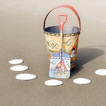 2018 Waldport Oregon - Digging for Sand Dollars by IMAGETAKERS
