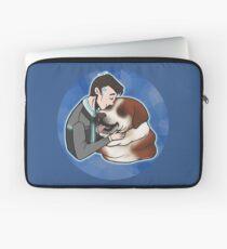 i like dogs Laptop Sleeve