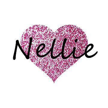 Nellie Pink Heart by Obercostyle