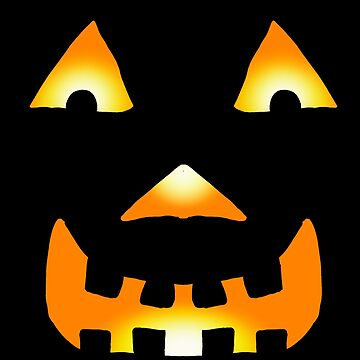 Glowing Jackolantern Face 1 by Rajee