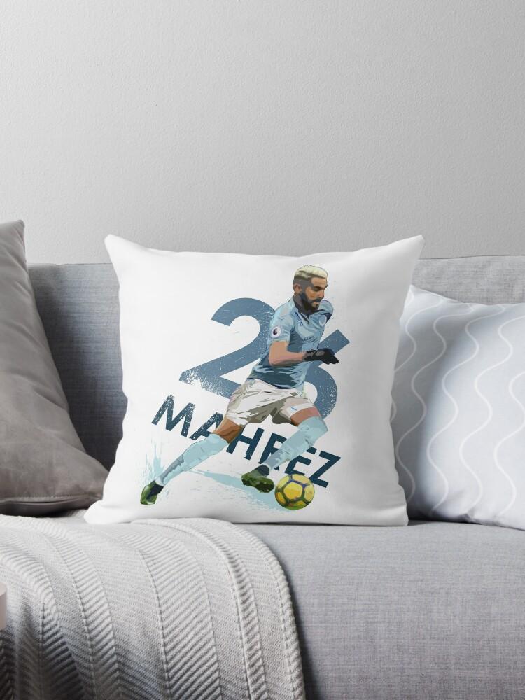Gift Riyad Mahrez Cushion Pillow Cover Case