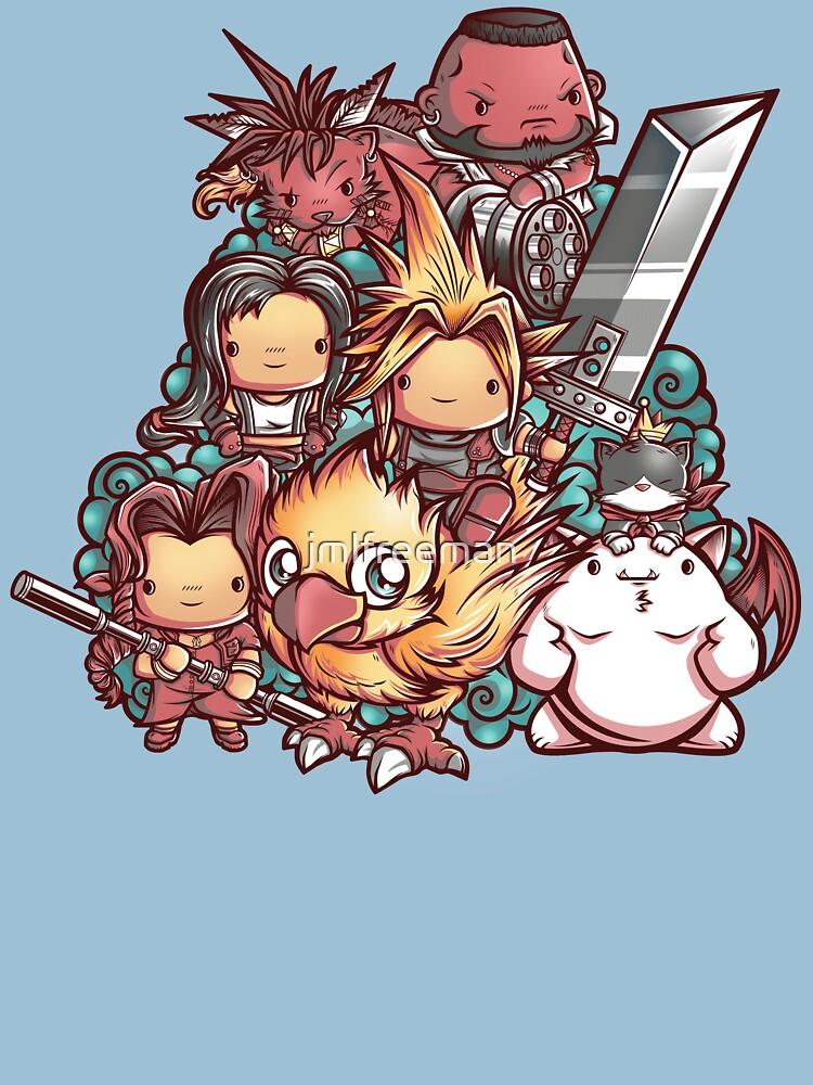 TShirtGifter presents: Cute Fantasy VII | Unisex T-Shirt