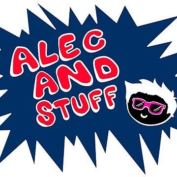 New alecandstuff Logo (Shocking Blue) by alecandstuff