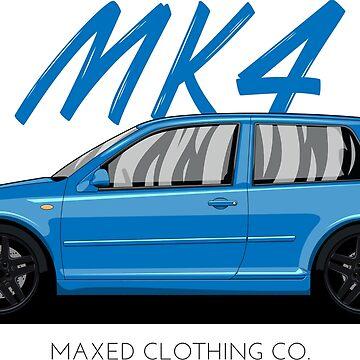 VW Golf MK4 MKIV (blue) by monstta