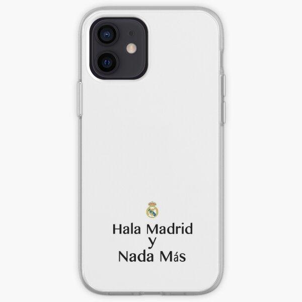 Hala Madrid y Nada Mas - Real Madrid Funda blanda para iPhone
