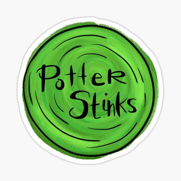 Potter Stinks Sticker