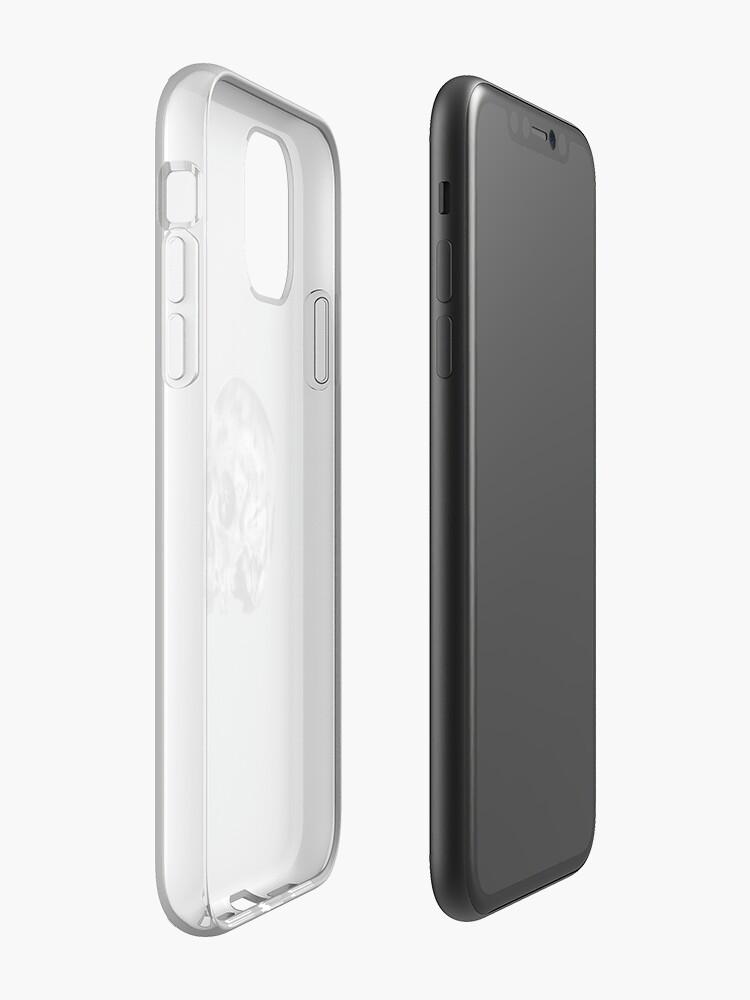 Coque iPhone «Crâne», par craigwinterlich