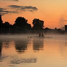 Rowing Before Sunrise by Martin Griffett