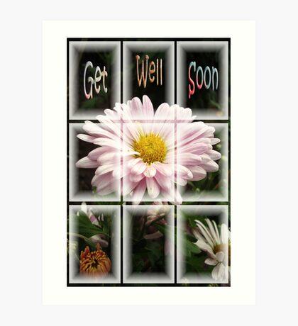 Get Well Soon Art Print