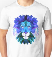 abstract triangular lion Unisex T-Shirt