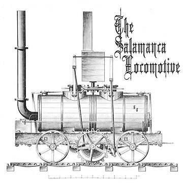 The Salamanca locomotive by TOMSREDBUBBLE