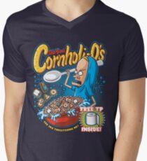 Cornholi-Os Men's V-Neck T-Shirt