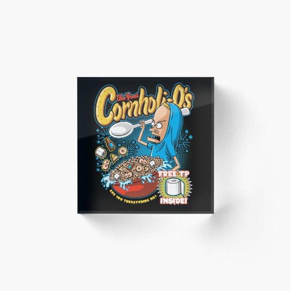 Cornholi-Os Acrylic Block