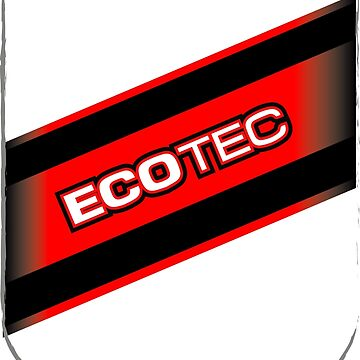 ECOTEC RED LOGO POCKET by Onevisualeye