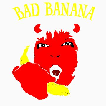 Bad Banana Boy by calroofer