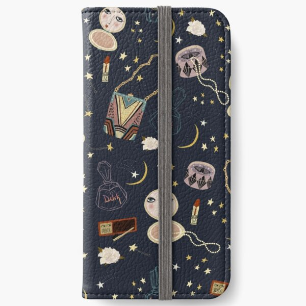 1920s cosmetics pattern iPhone Wallet