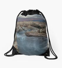 Misty Waters Drawstring Bag