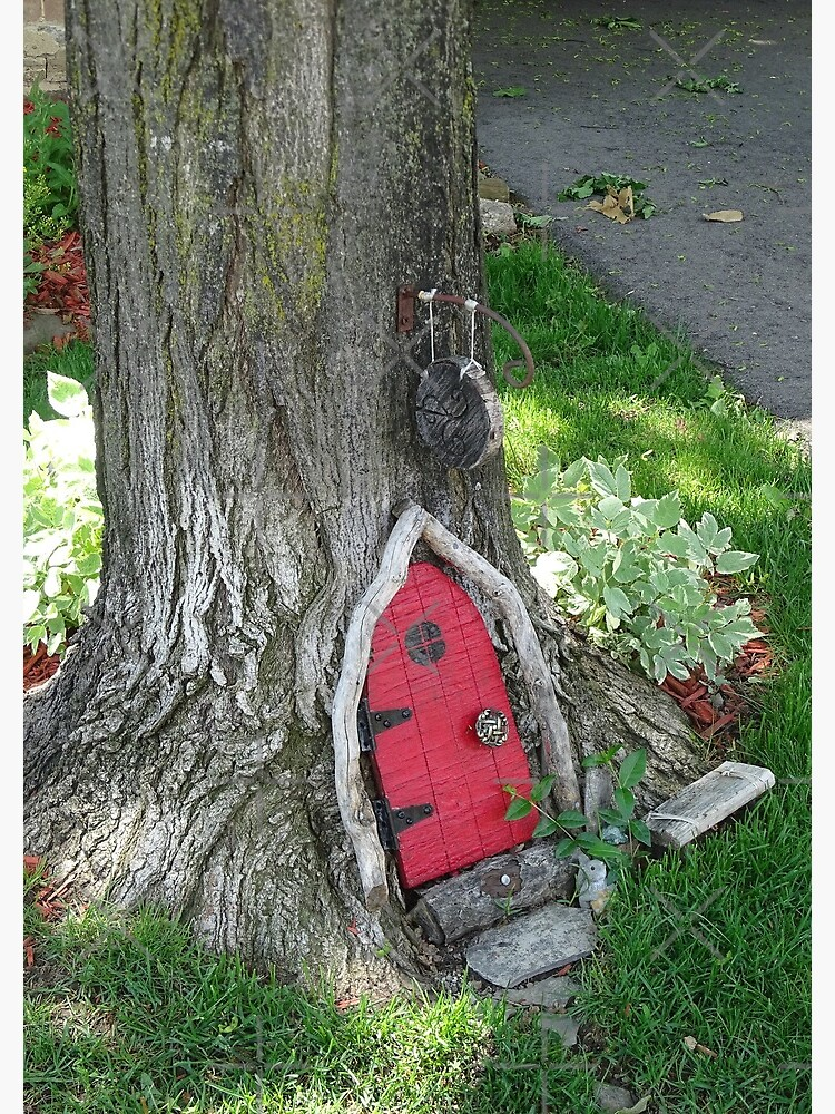 A red fairy door  by PicsByMi