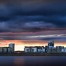 Leith Flats 2 by Mark Dickson